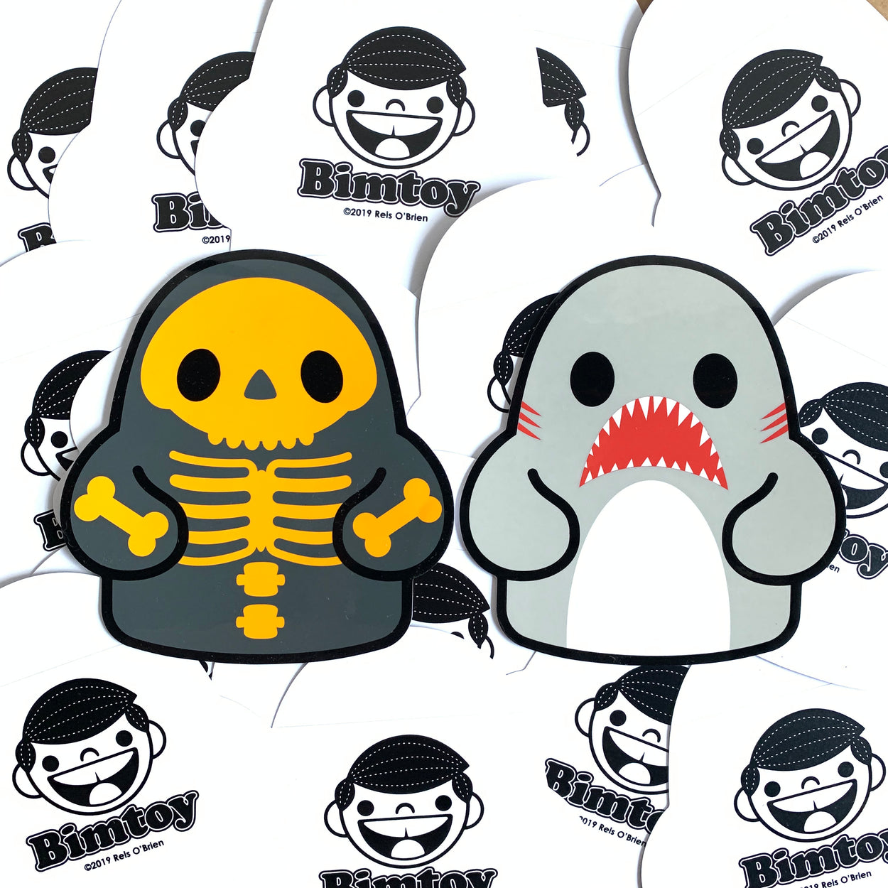 Tiny Ghost (D'AWS & Hallow Eve) LE Sticker Pack