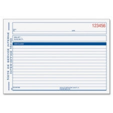 "Adams Preprinted Interoffice Memo Book - 50 Sheet(s) - 2 Part - Carbonless Copy - 5.56"" x 8.43"" Form Size - 1 Each - Office Buggy"