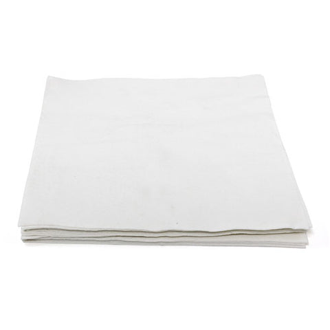 Airlaid White Napkins 14 x 14 (unfolded) - 1000/Box