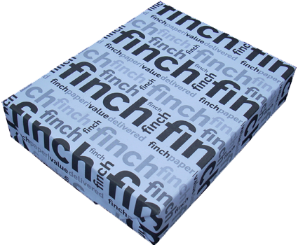 Finch Card Stock 8.5 x 11 - 100 Ibs, Uncoated White Paper - 250/Pack