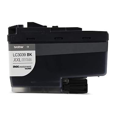 Brother Black Inkvestment Ink Cartridge, Ultra High Yield (LC3039BKS)