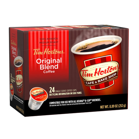 Tim Hortons® Original Single Serve Coffee (24 Pack)