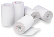 "2 1/4"" x 60ft - DEBIT/CREDIT Thermal Paper Receipt Roll - 50 Rolls/Case"