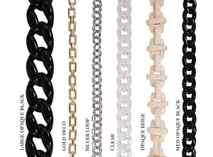 Ida Black (Medium) with Chain