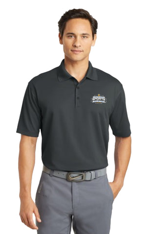 LSHOF - Nike Golf Men's BIG and TALL Dri-Fit Micro Pique Polo (ANTHRACITE)
