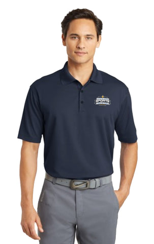 LSHOF - Nike Golf Men's Dri-Fit Micro Pique Polo (NAVY)