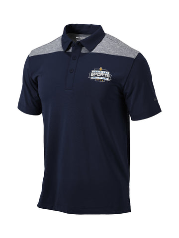 LSHOF - Columbia Men's Omni-Wick Utility Polo (NAVY)