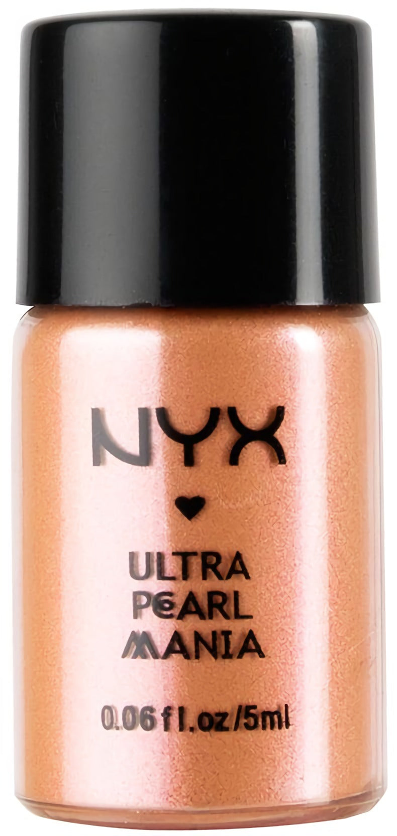 NYX Professional Ultra Pearl Mania Loose Pearl Eyeshadow, Orange Zest Pearl