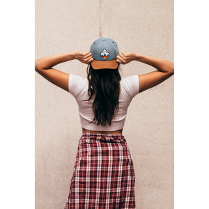 Traditional Denim Strapback