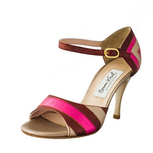 Comme il Faut Shoes Bordo Fucsia
