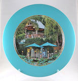 "Charger Plate -""Tree House Gazebo"""