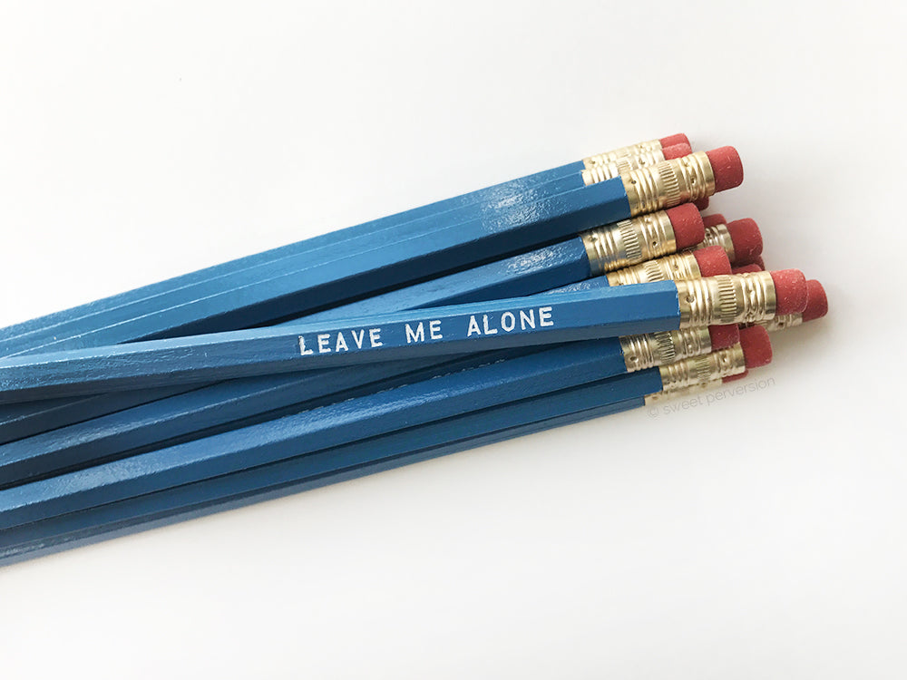 Leave Me Alone Pencil Set