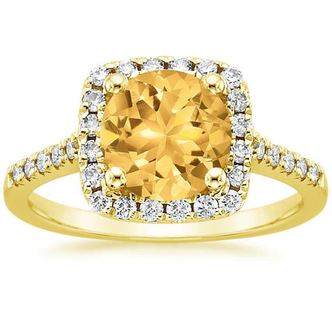 14K Heaven's Yellow Diamond Ring, , Eversmart Beauty