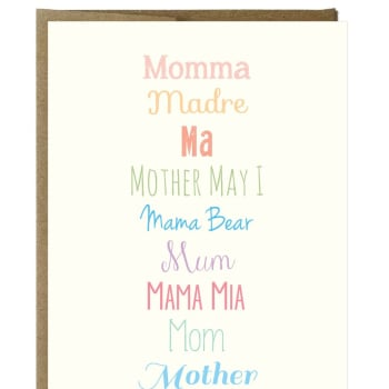 MOM Greeting Card, Greeting Cards, Eversmart Beauty