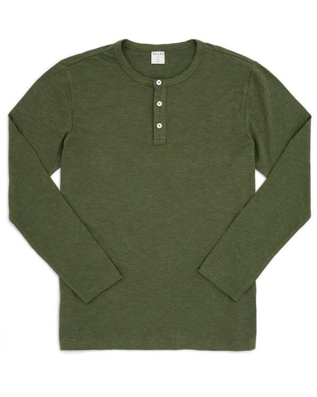 Olive | American Made Feather Henley