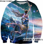 Retro Kitsch Sweatshirts Various Designs, , Unicorn Rhapsody, unicorn products, unicorn stuff