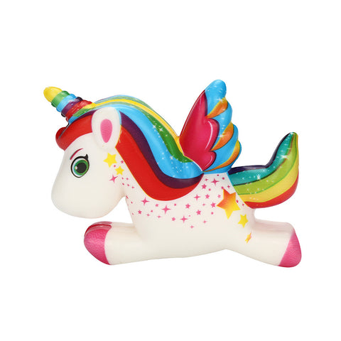 Cute Unicorn Squishy Slow Rising Cartoon Doll Cream Scented Stress Relief Toy, , Unicorn Rhapsody, unicorn products, unicorn stuff