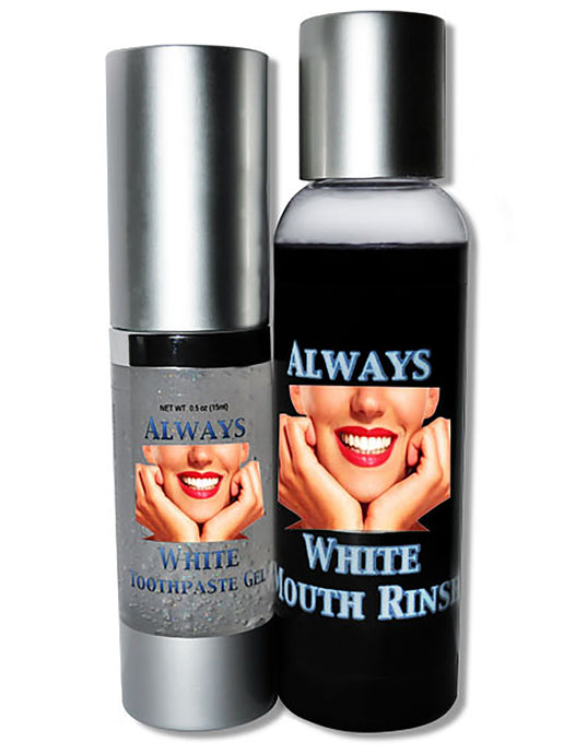 ALWAYS WHITE- Mouth Rinse & Toothpaste Gel - Always White