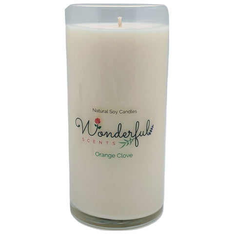 Wonderful Scents Never Ending Soy Candle Orange Clove