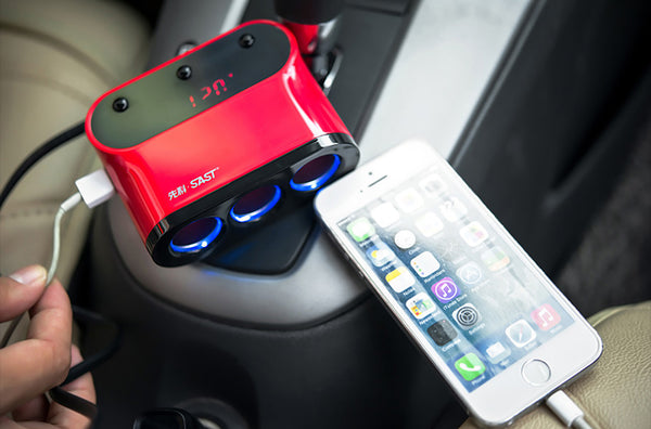 Most Useful Multi-function USB Charger Hub for Your Car