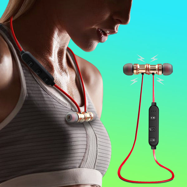Wireless Bluetooth Magnetic Earbuds That You Can Wear All Day