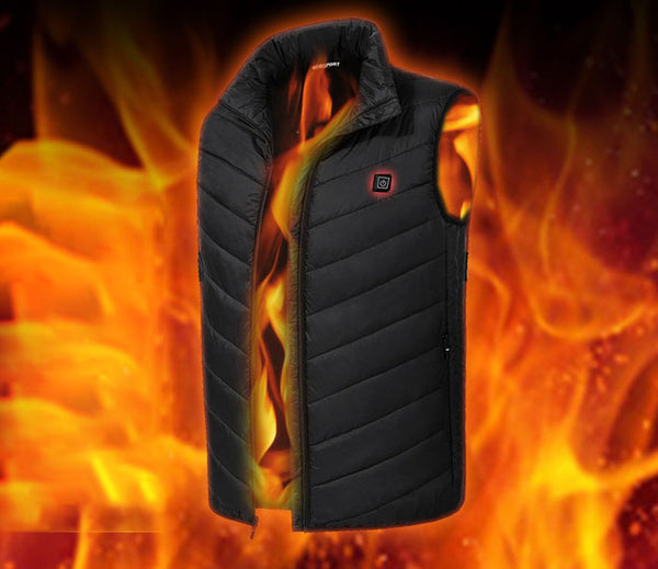 Heat Your Core with Power Bank Heated Graphene-embedded Down Vest