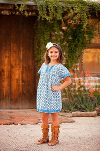 Free Spirit Tunic in Blue - Tomato Superstar