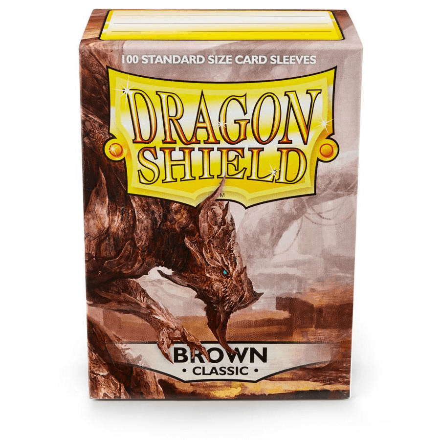 Sleeves Dragon Shield (100ct) Brown