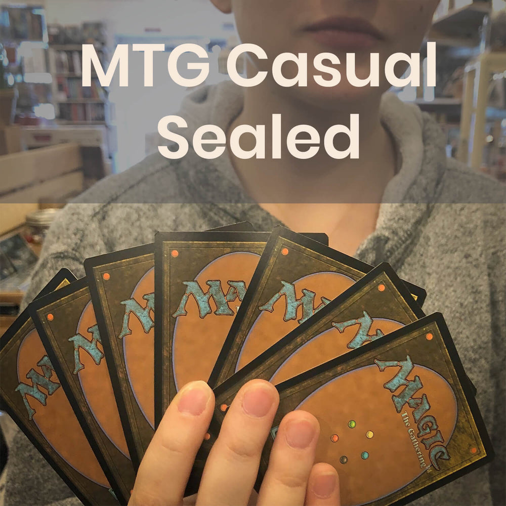 MTG Casual Sealed - Wednesdays @ 6:30p
