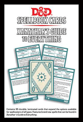 D&D Spell Cards : Xanathar's Guide (2018)