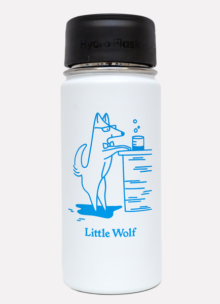 Little Wolf 16oz Hydroflask