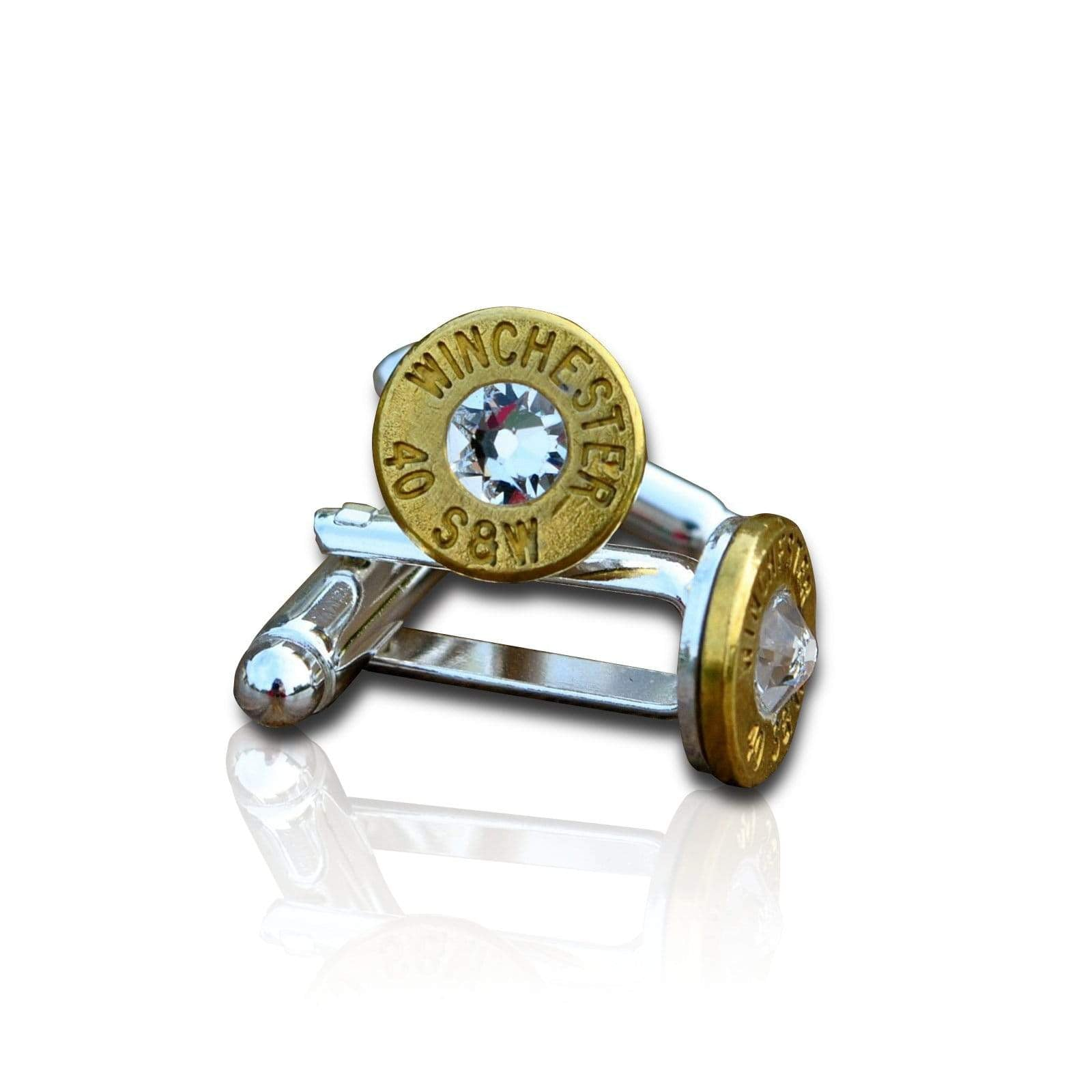 Men's Cufflinks | Lingo Luxe The Gunslinger-Lingo Luxe Bespoke