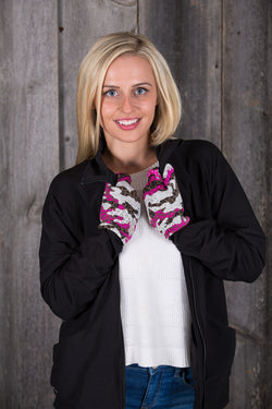 Pink Camouflage (Gloves)