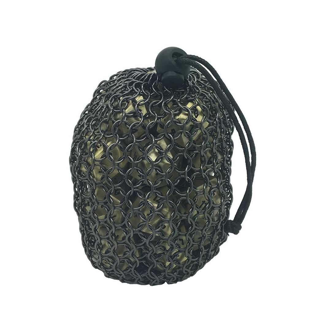 Chainmail Dice Bag Made of Stainless Steel