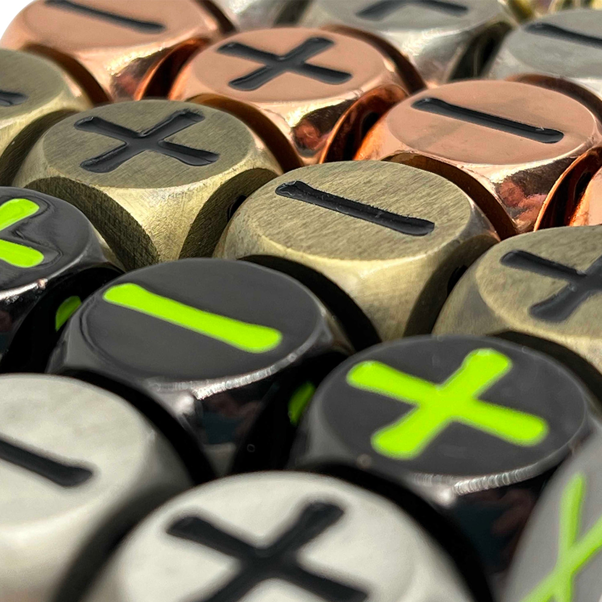 Metal Fate Dice