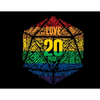 D20 Pride T Shirt - Norse Foundry
