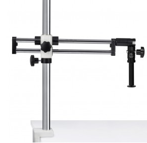 SMZ Stand - Ball Bearing Boom (Table Clamp) stand, 32mm pole (600mm length) - (1101010100351)