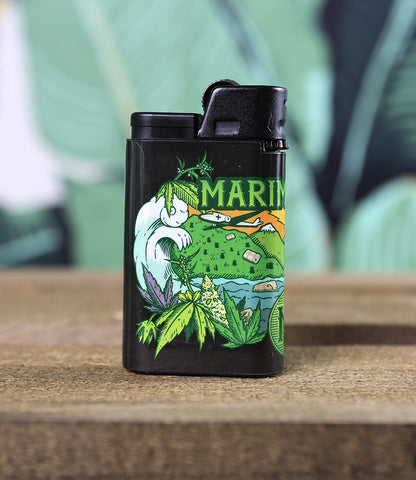 Official Marimberos Djeep Lighter