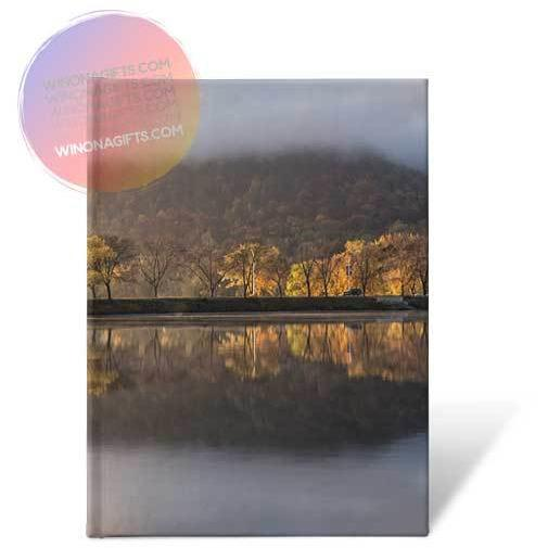 Winona Minnesota Hardcover Journal Huff Street Magic - Kari Yearous Photography KetoLaughs