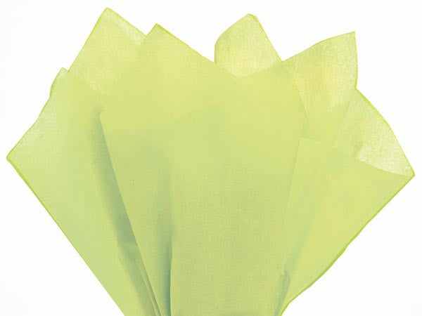 Fresh Lime Solid Tissue Paper 20X30