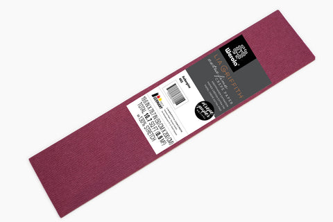 Lia Griffith Crepe Paper Folds Extra Fine - Single - Aubergine