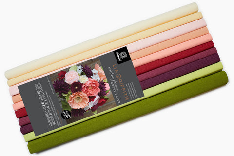 Lia Griffith Crepe Paper Folds Extra Fine - 10 pack Assortment