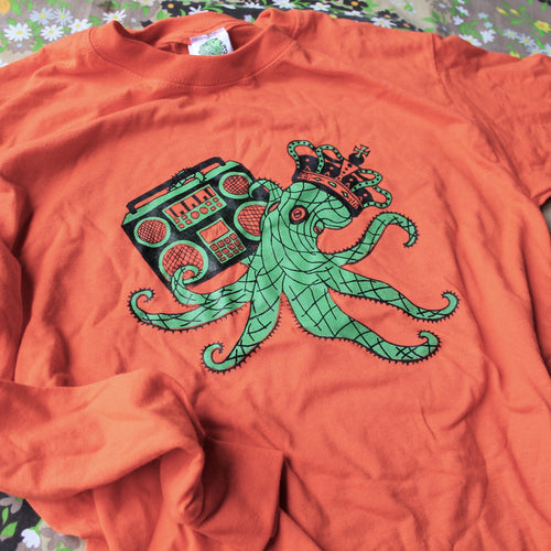 Octoking unisex long sleeve shirt