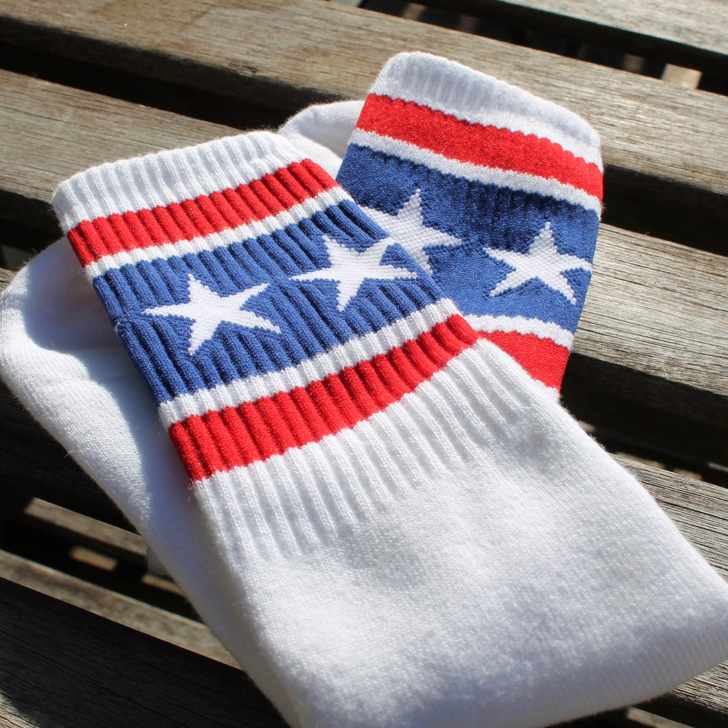 stars and stripes socks for sale retro tube socks