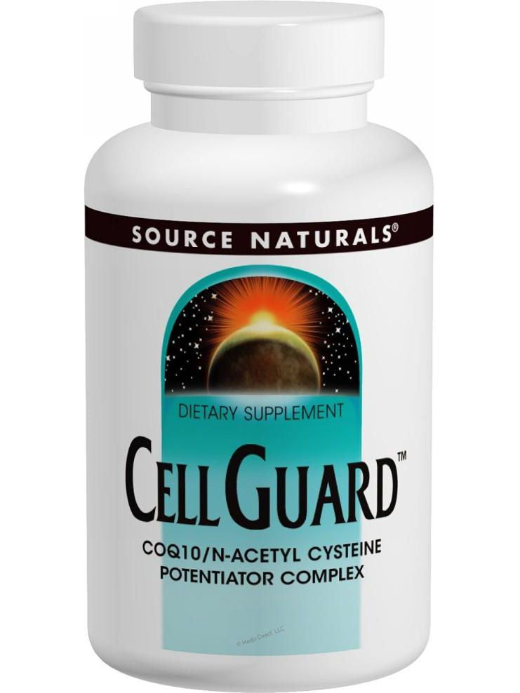 Source Naturals, Cell Guard CoQ10/NAC Complex, 30 ct