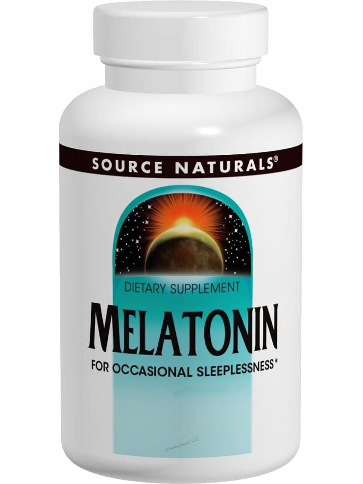 Source Naturals, Melatonin, 2mg Timed-Release, 120 Timed Release ct