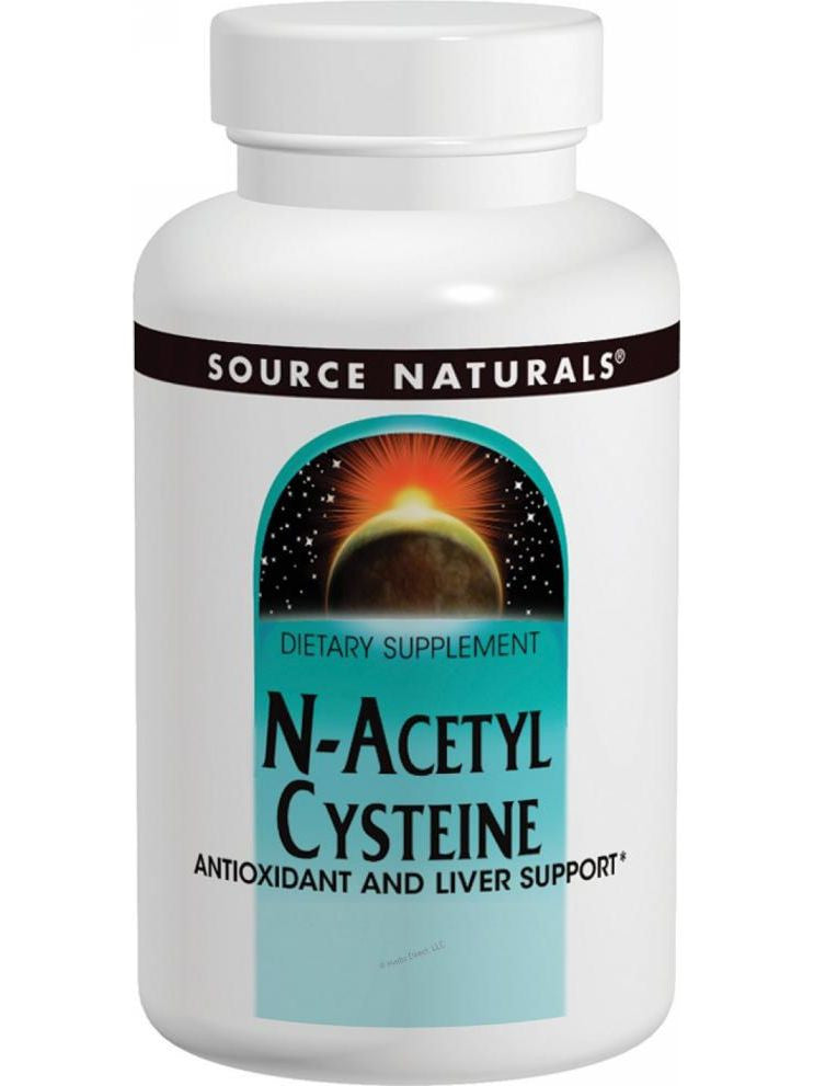 Source Naturals, N-Acetyl Cysteine, 1000mg, 60 ct