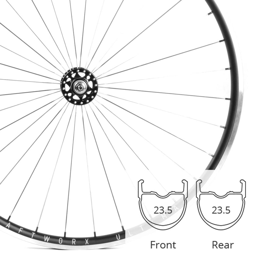 ULTIMA SL OMNIUM | 700C | TRACK/FIXIE WHEELSET | 1684G | 25MM DEEP | 23MM WIDE