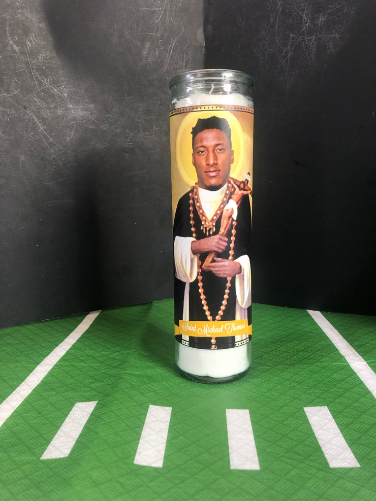 "Choice of Individual Candle from the ""Who Dat Collection"" Prayer Saint Candles"