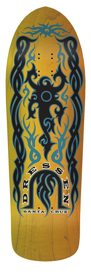 Dressen Tribal Stained Yel/Org 9.9 X 31. - Santa Cruz Australia